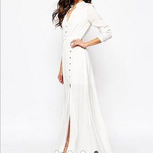 Jetset Diaries Sahara Maxi Dress XS White Cream